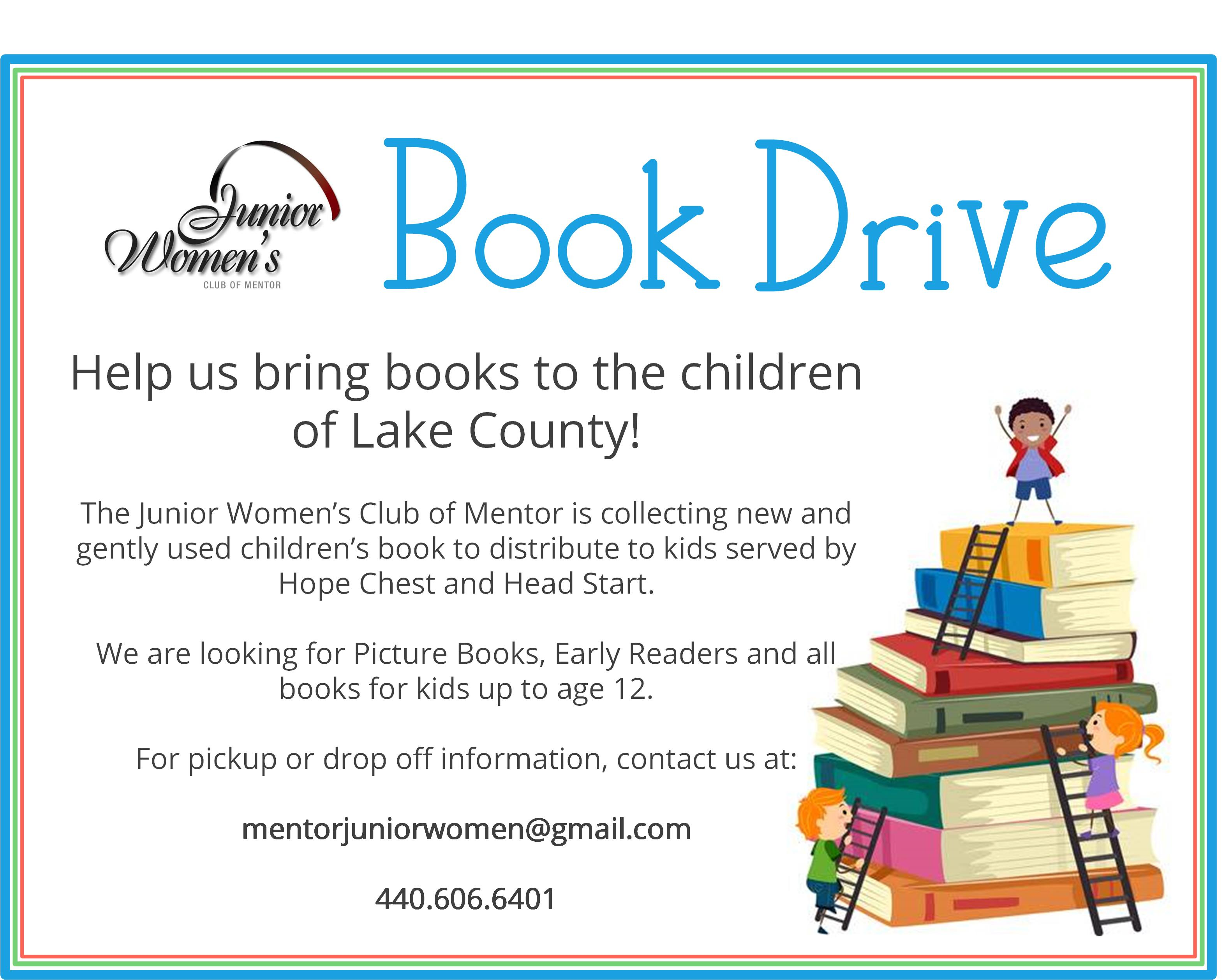Lake County Ohio Book Drive